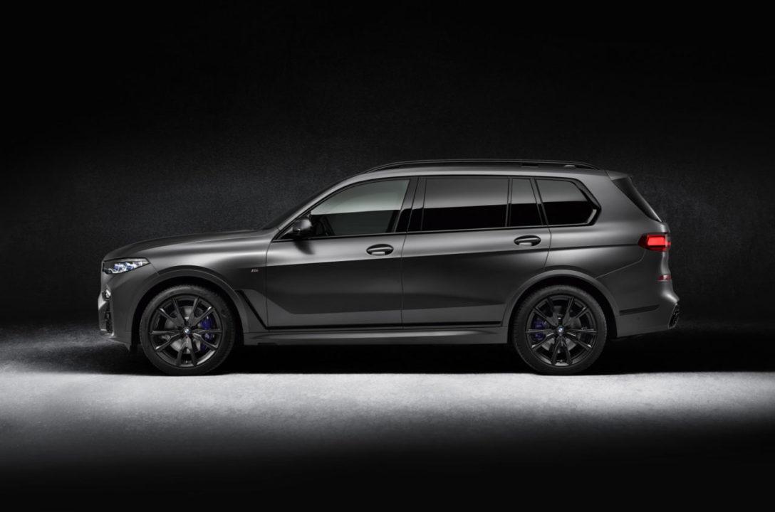 bok BMW Individual BMW X7 Edition Dark Shadow