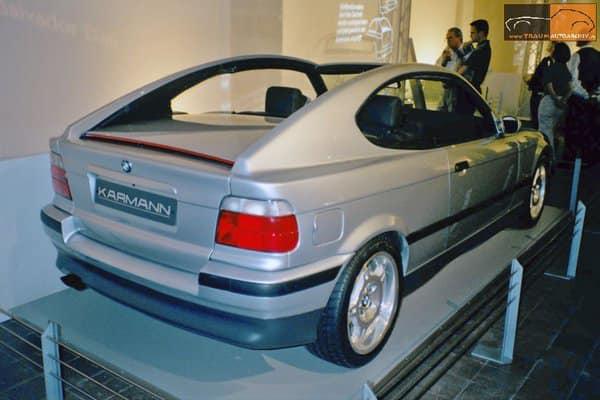 BMW K2 E36 KARMANN tył wystawa