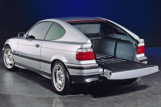 BMW K2 E36 KARMANN_4 bagażnik