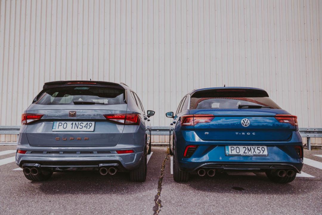 CUPRA Ateca - VW T-Roc R tyły