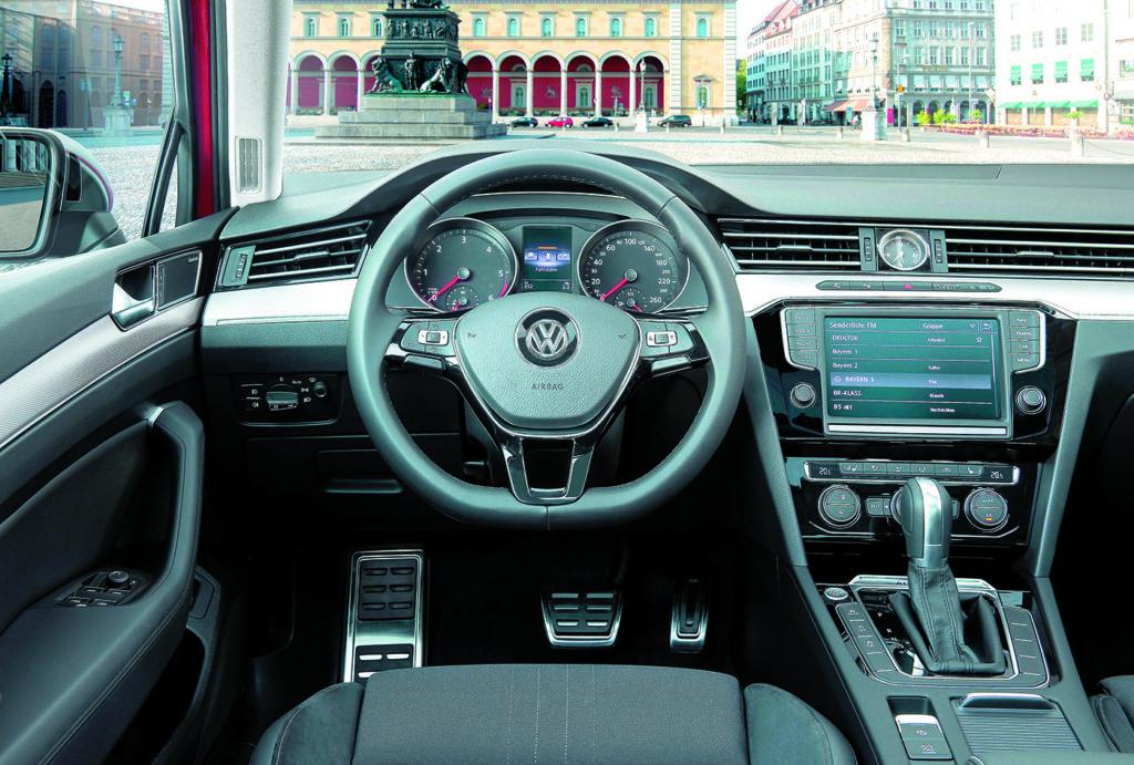 Kokpit Volkswagen Passat B8 Alltrack