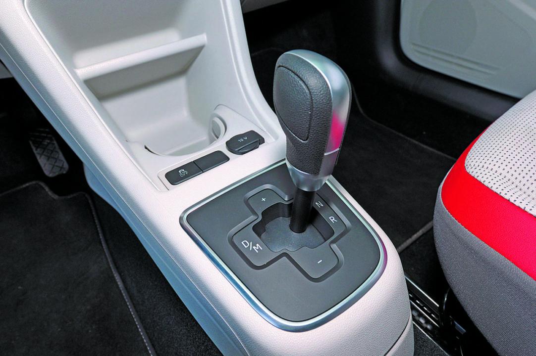 Dźwignia automatycznej skrzyni biegów VW up!
