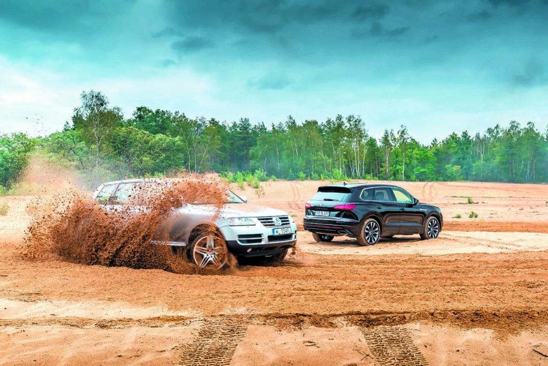 VW Touareg I V10 TDI i VW Touareg III V8 TDI