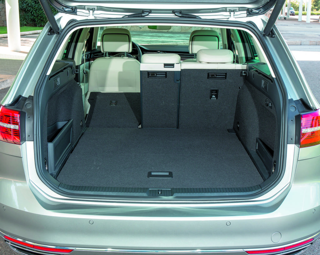 Bagażnik Volkswagen Passat B8