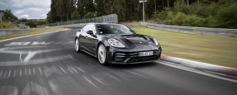 Porsche Panamera Nurburgring rekord 2020 dynamika