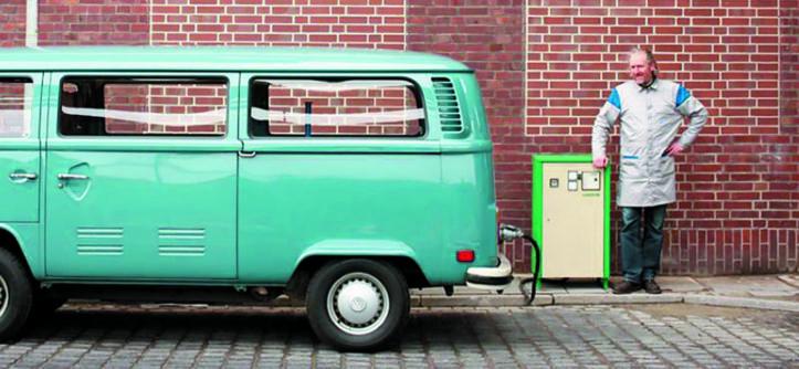 Elektryczny VW Transporter T2
