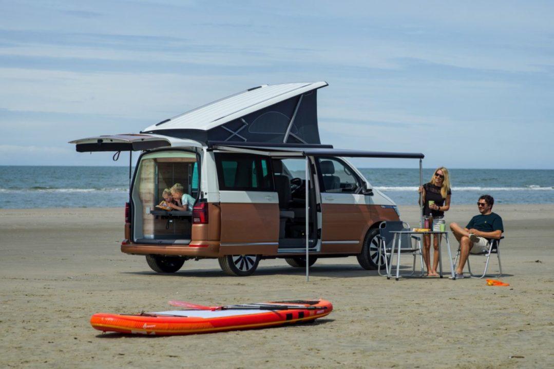 T6.1 Caliornia Volkswagen plaża