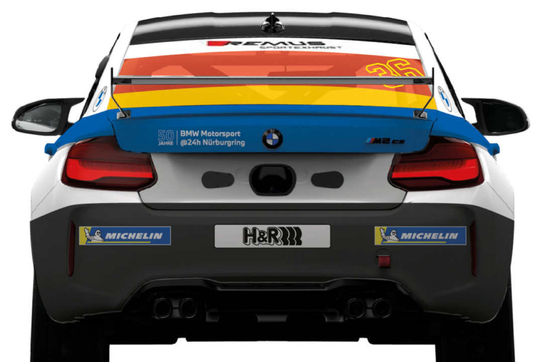 BMW M2 CS Racing Nürburgring 24 Hours