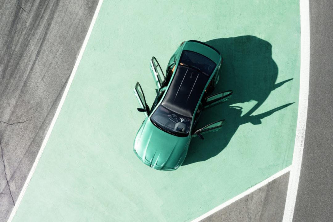 BMW M3 M4 2021 od góry