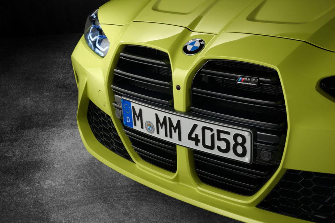 BMW M3 M4 2021 grill