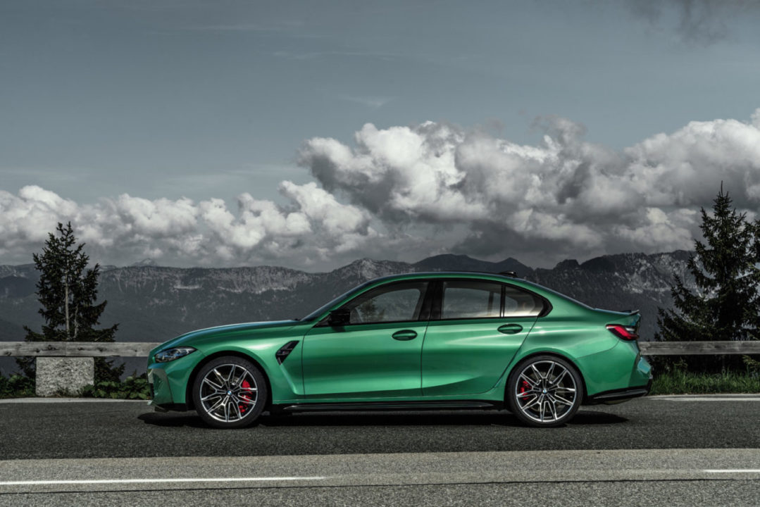 BMW M3 M4 2021 profil