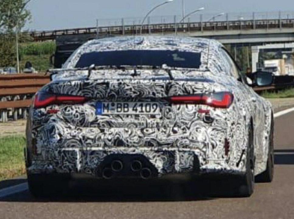 BMW-M4-CSL-Spy-Photo