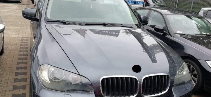 BMW X5 policja