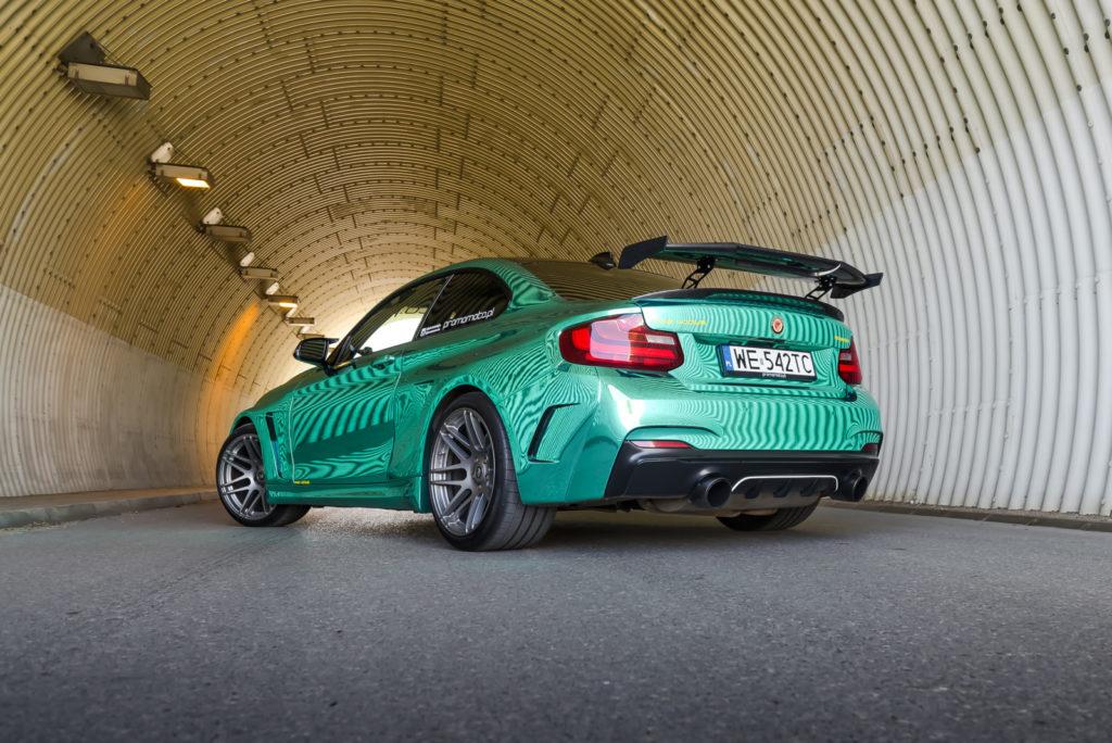BMW_M235i_tuning_widok_z_tyłu