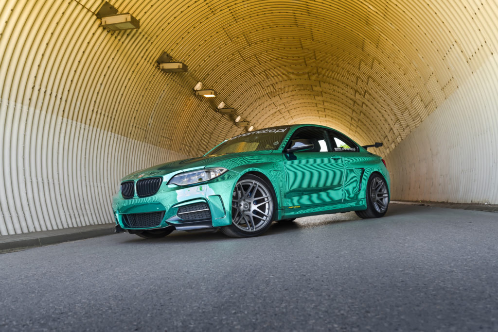 BMW_M235i_tuning_widok_z_przodu