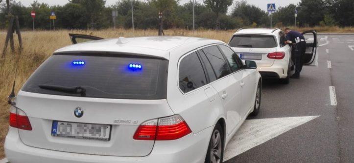 radiowóz 525d nieoznakowane BMW