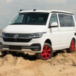 T6.1 offroad vw bus terenowy piach