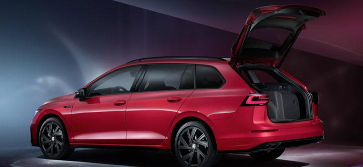 The new Volkswagen Golf Alltrack tył