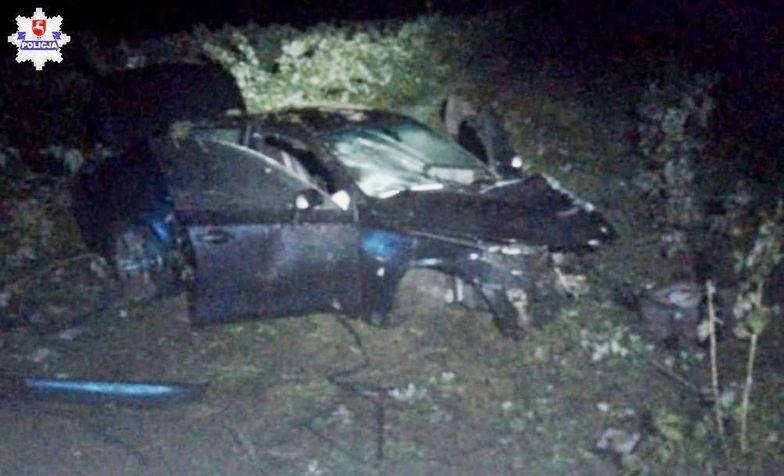 Wypadek BMW