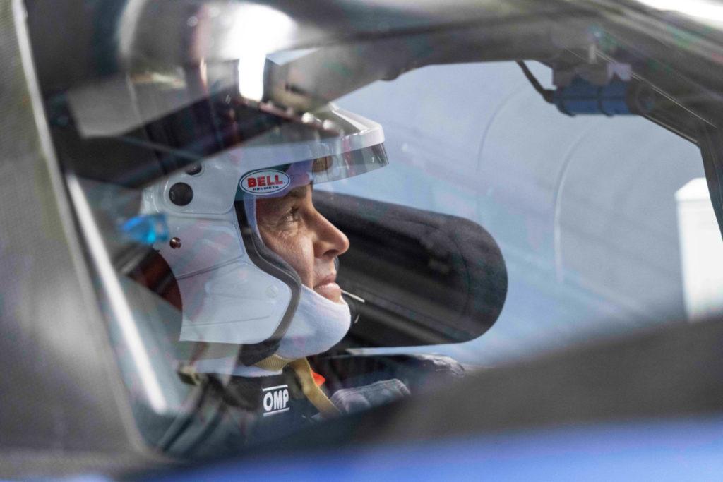 Nico Rosberg w VW ID.R na torze Nürburgring