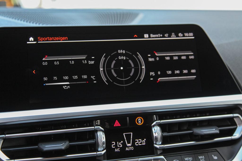 Tuning BMW F30 M340i Dahler panel środkowy