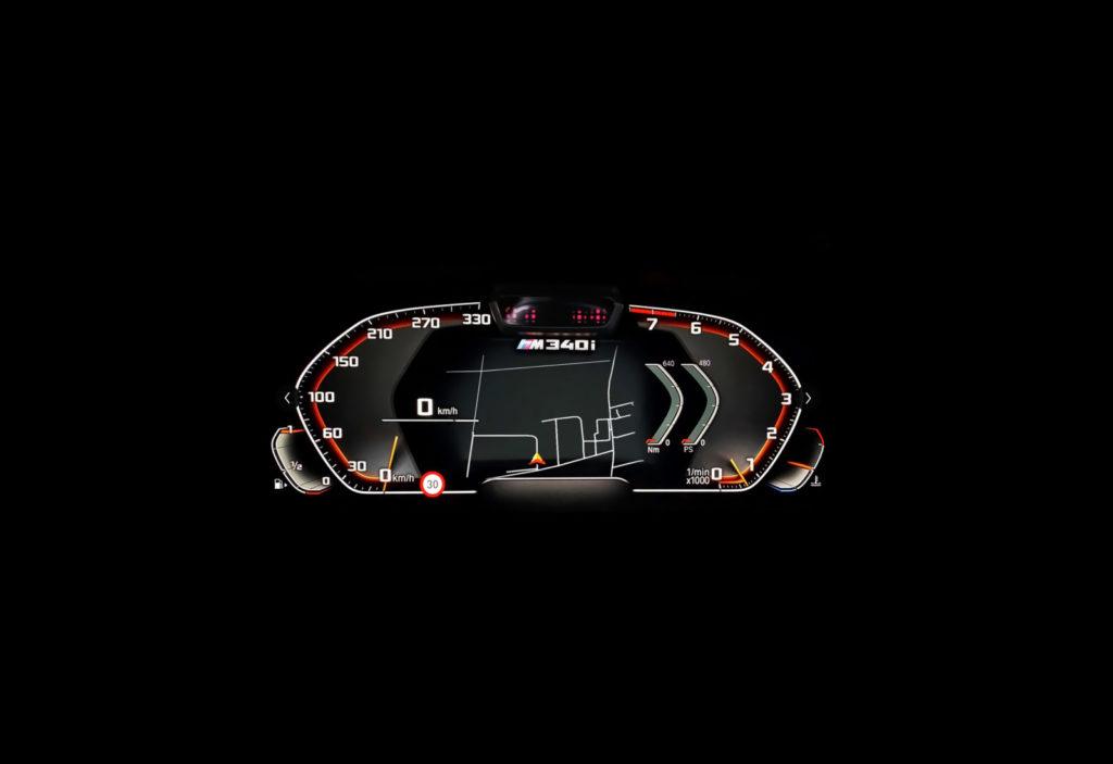 Tuning BMW F30 M340i Dahler zegary
