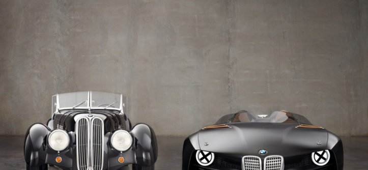 BMW 328 Hommage hero car
