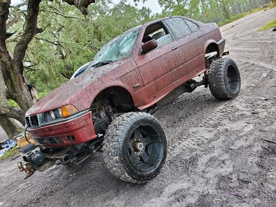 BMW E36 Mud Racer