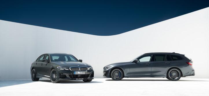 Dwie BMW_ALPINA_D3_S kombi i sedan