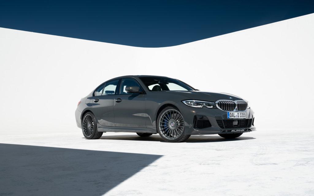 BMW_ALPINA_D3_S widok z przodu