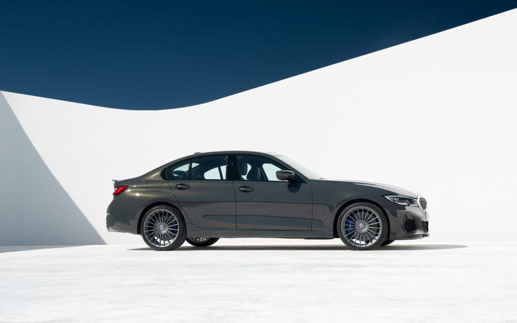 BMW_ALPINA_D3_S widok z boku