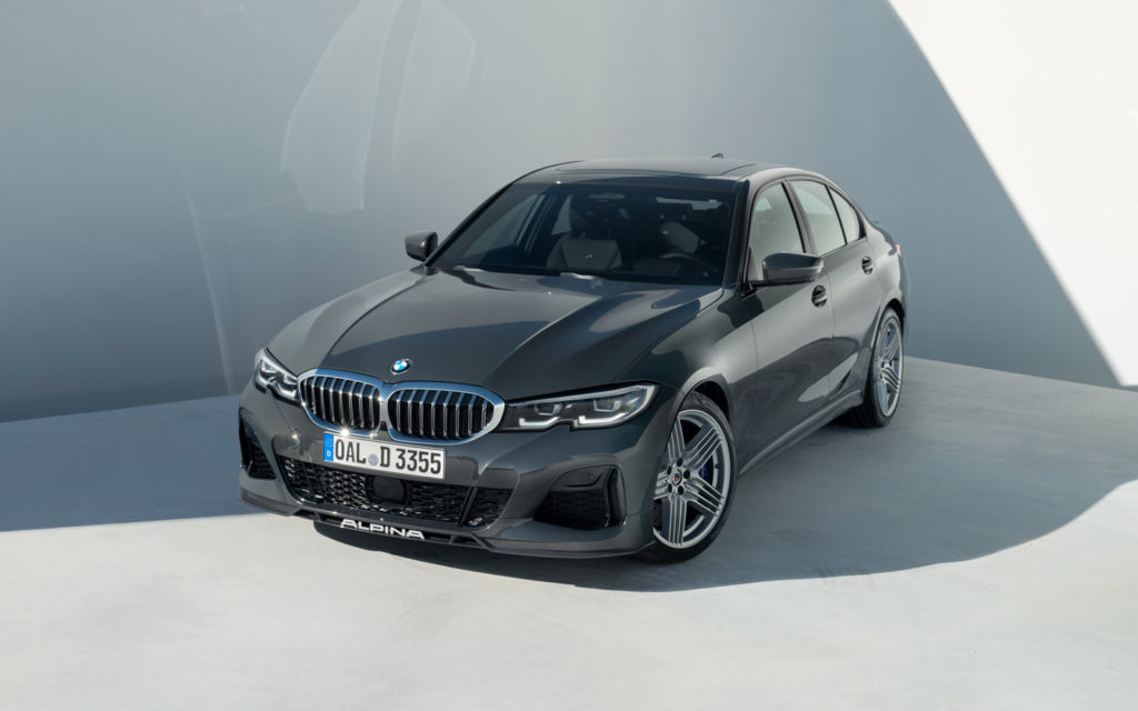 BMW_ALPINA_D3_S widok z góry