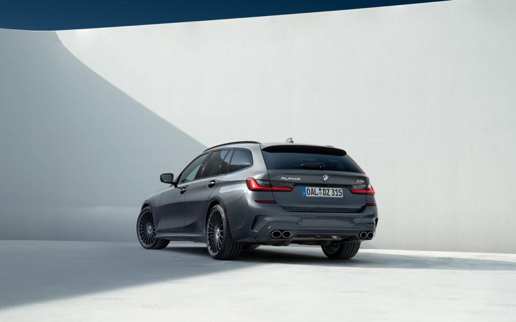 BMW_ALPINA_D3_S widok od tyłu