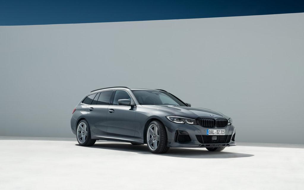 BMW_ALPINA_D3_S widok z frontu