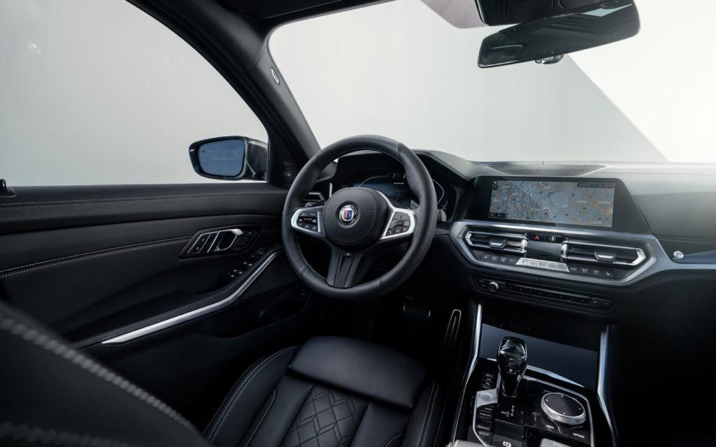 BMW_ALPINA_D3_S kokpit