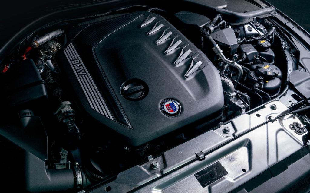 BMW_ALPINA_D3_S silnik