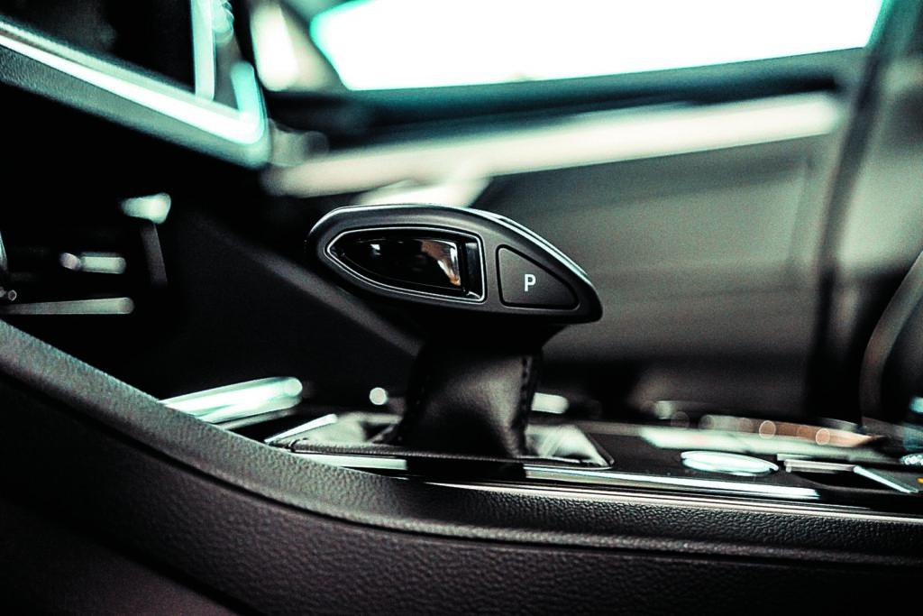 VW Touareg V6 TDI dźwignia zmiany biegów