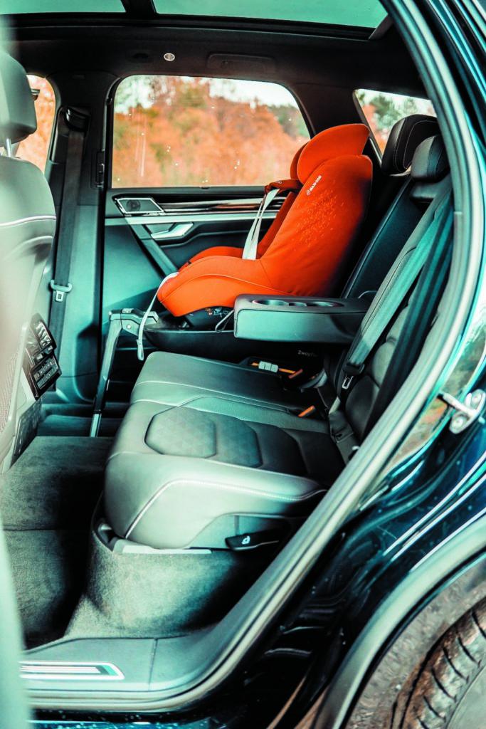 VW Touareg V6 TDI tylna kanapa