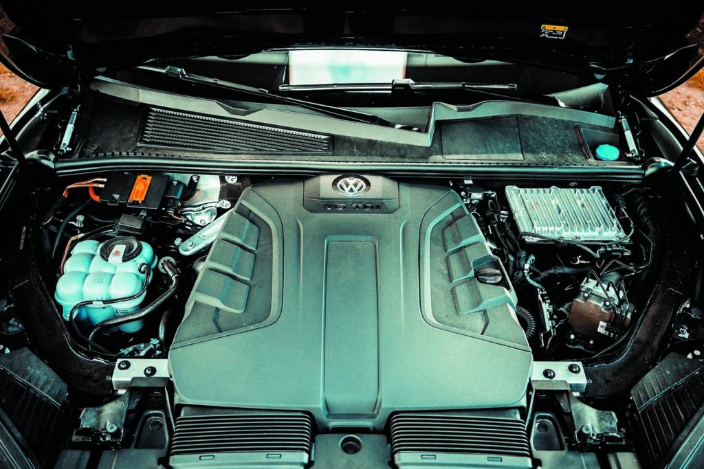VW Touareg V6 TDI silnik