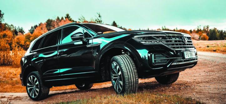 VW Touareg V6 TDI w terenie