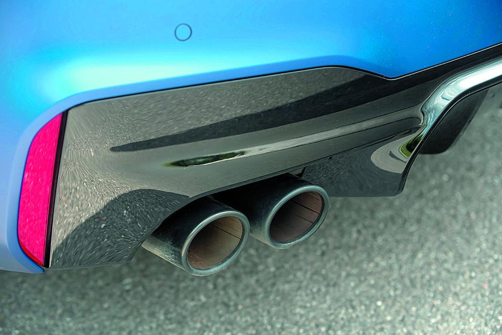 BMW M5 F90 Competition rury wydechowe