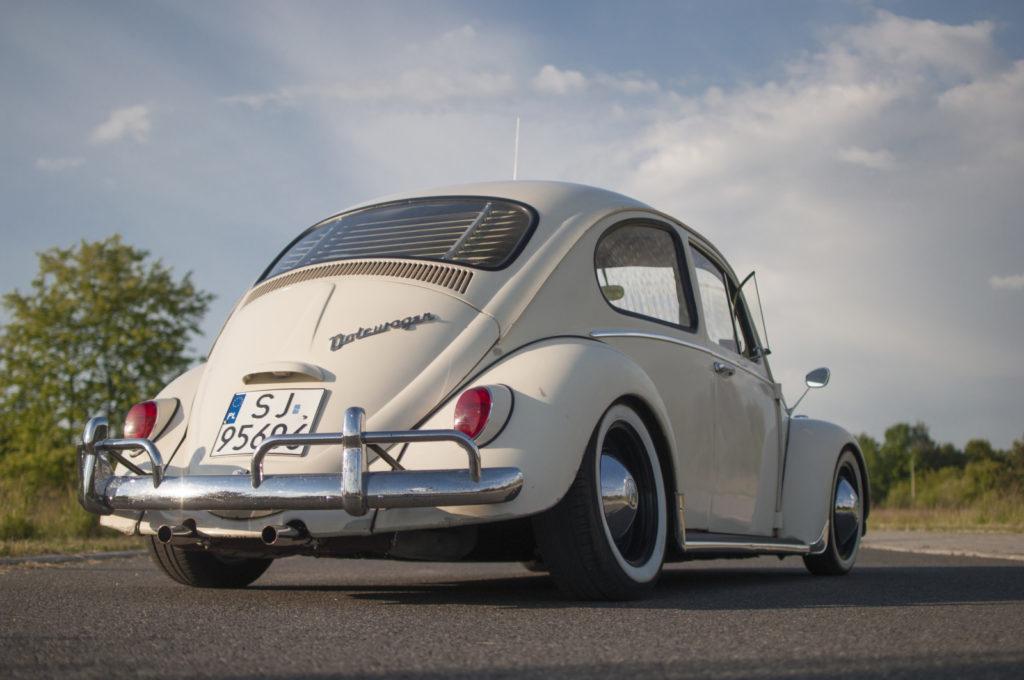 VW Garbus 1200 1965 r. widok z tyłu