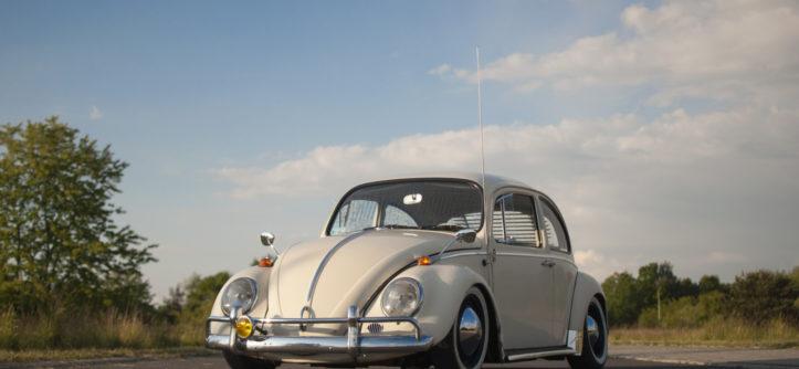 VW Garbus 1200 1965 r. widok z przodu