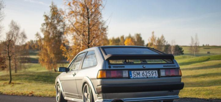 VW Scirocco II GTX widok z tyłu
