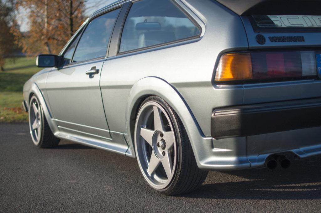 VW Scirocco II GTX tylne koło