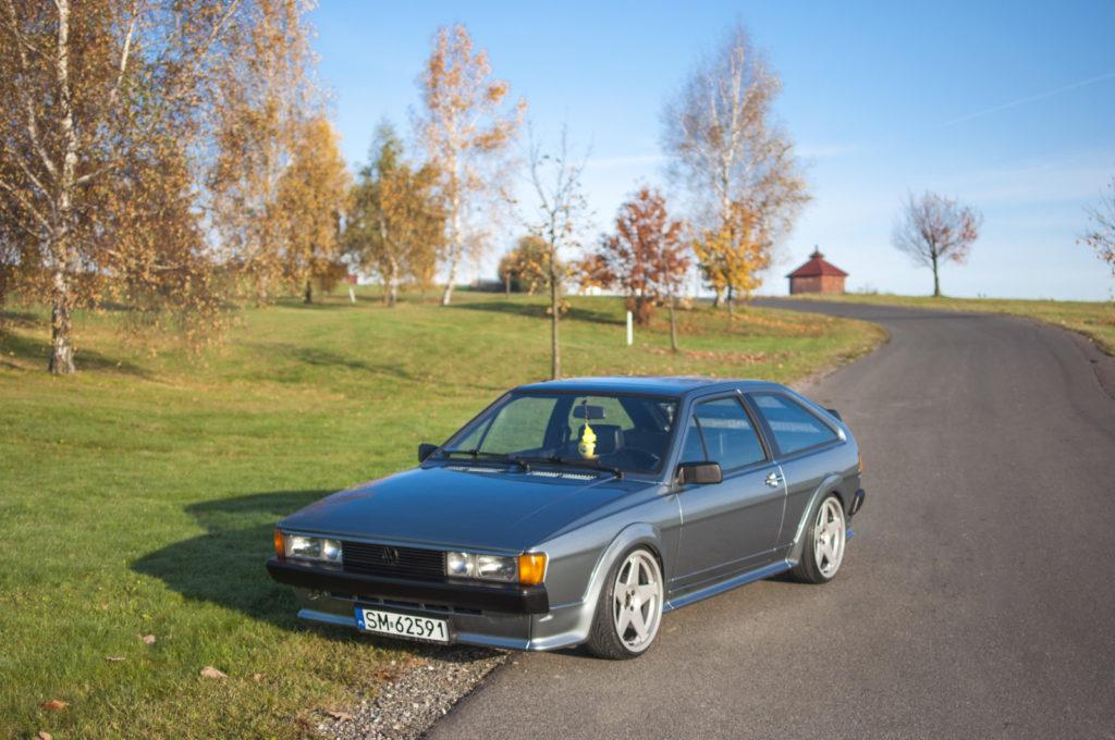 VW Scirocco II GTX widok z przodu