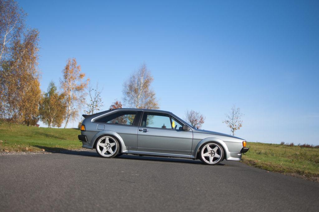 VW Scirocco II GTX widok z boku