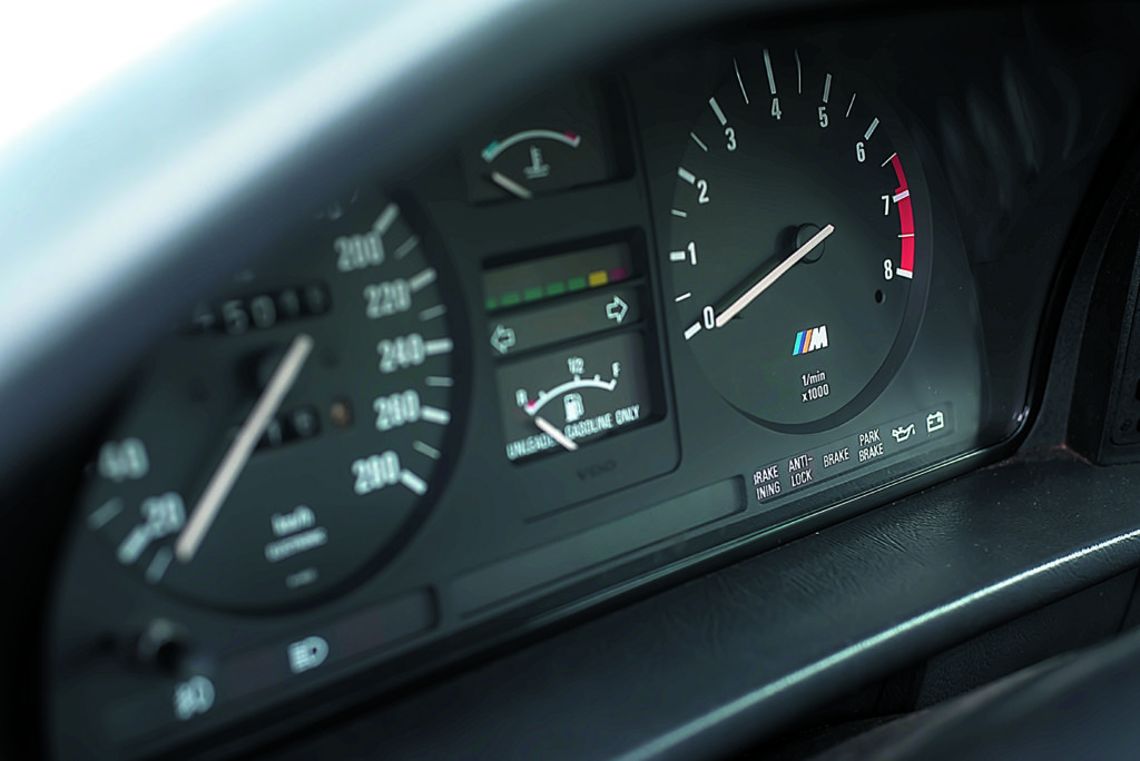 BMW E28 M5 zegary