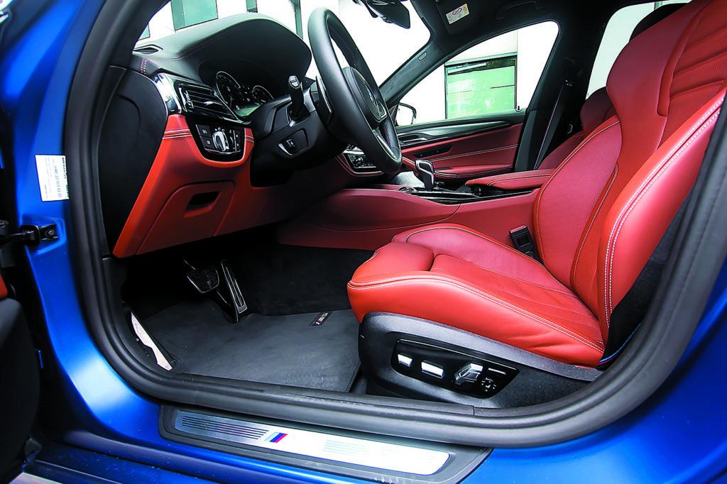 BMW M5 F90 Competition fotel kierowcy