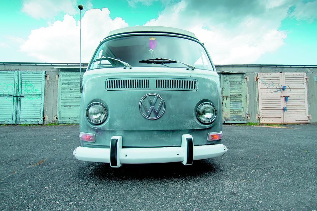 VW T2 Westfalia AB tuning widok z przodu